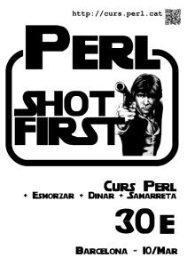 cartell del curs avançat de Perl